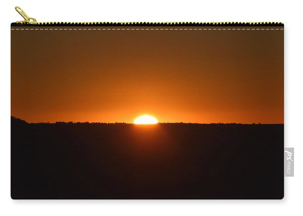 Carry-all Pouch featuring the photograph Sunrise by Margarethe Binkley