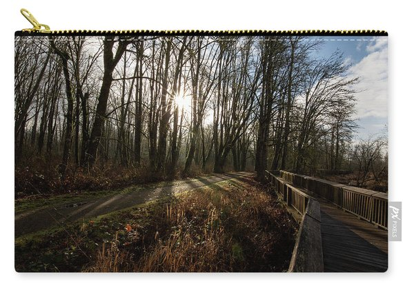 Sunrise On The Boardwalk Carry-all Pouch