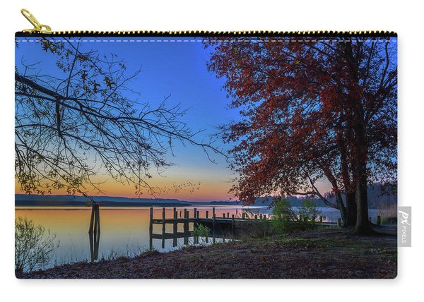 Sunrise On The Patuxent Carry-all Pouch