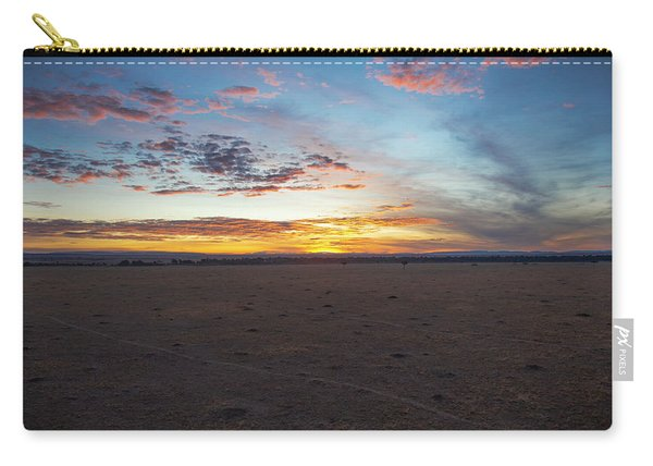Sunrise Over The Mara Carry-all Pouch