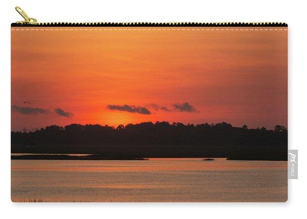 Sunrise Over Drunken Jack Island Carry-all Pouch