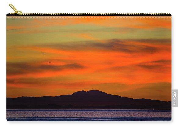 Sunrise Over Santa Monica Bay Carry-all Pouch