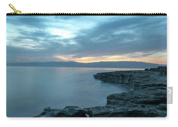 Before Dawn At The Dead Sea Carry-all Pouch