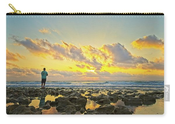 Sunrise Surf Fishing Carry-all Pouch