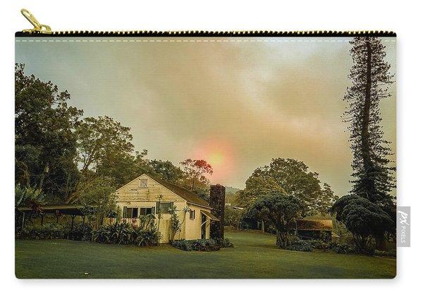 Sunrise Through The Haze Carry-all Pouch