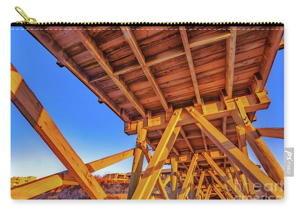 Sunrise Under The Sea Cabin Pier  Carry-all Pouch