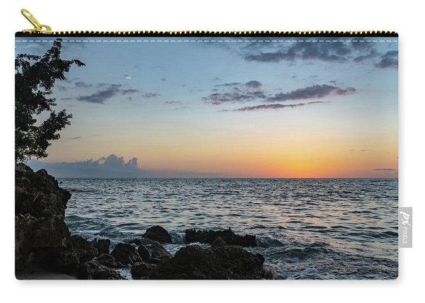 Sunset Afterglow In Negril Jamaica Carry-all Pouch