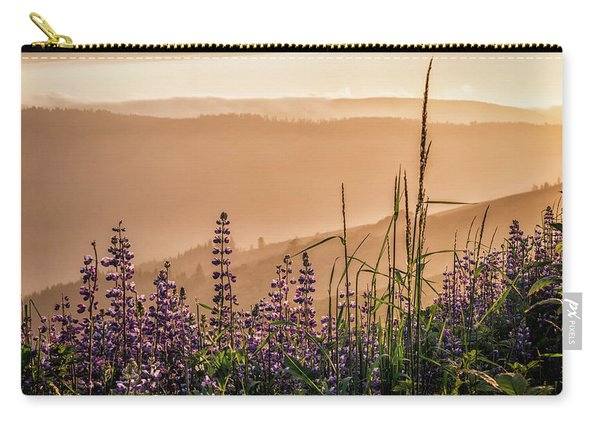 Sunset Among The Lupine Carry-all Pouch