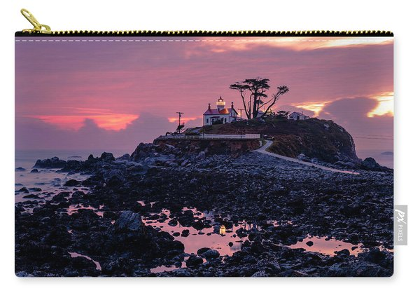 Sunset And Low Tide At Battery Point Carry-all Pouch