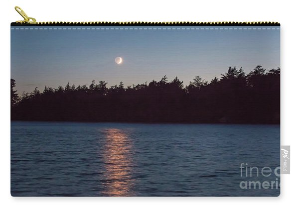 Sunset And Moonrise Carry-all Pouch