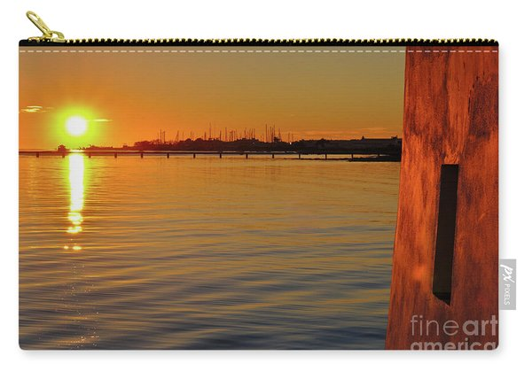 Sunset And Old Watermill Carry-all Pouch