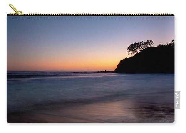 Sunset At Abalone Cove Carry-all Pouch