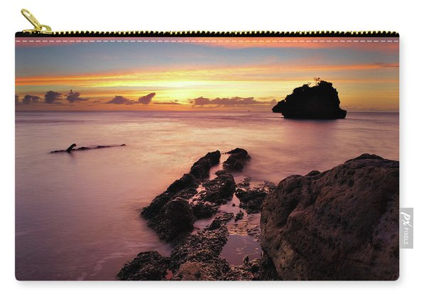 Sunset At Columbus Bay Carry-all Pouch