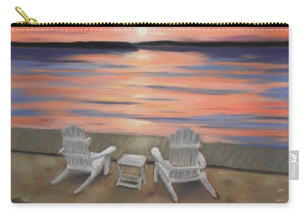 Sunset At Mairs Carry-all Pouch