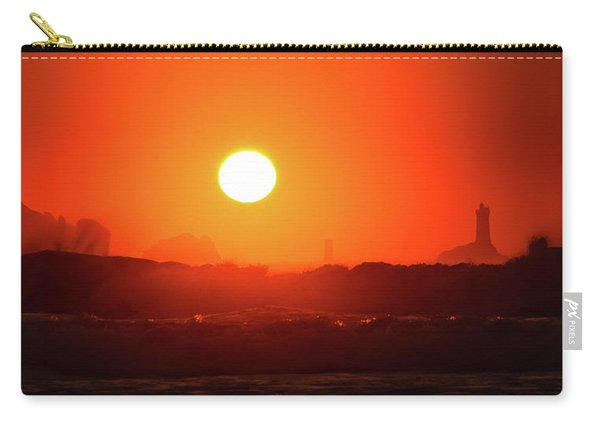 Sunset At Pointe Du Raz Carry-all Pouch