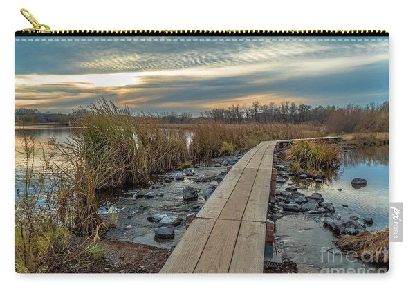 Sunset At Purgatory Creek Carry-all Pouch