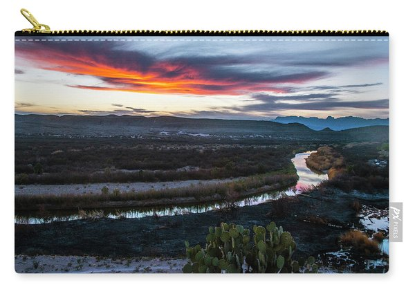 Sunset At Rio Grande Village Carry-all Pouch