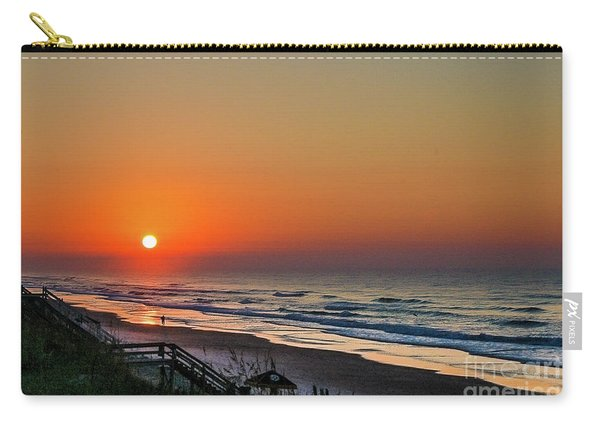 Sunset At Surf City Nc Carry-all Pouch