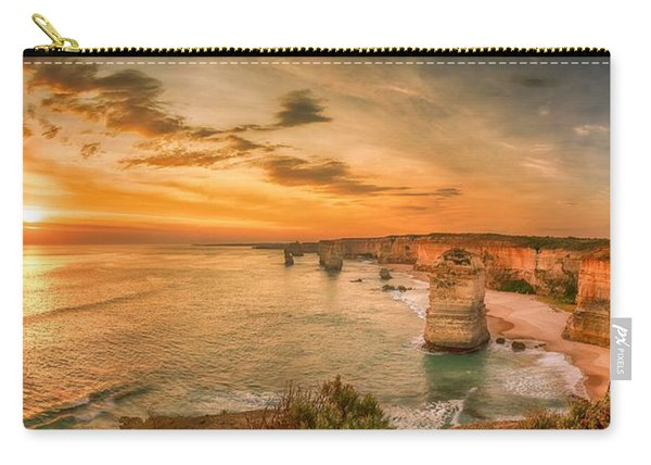 Sunset At The Twelve Apostles Carry-all Pouch