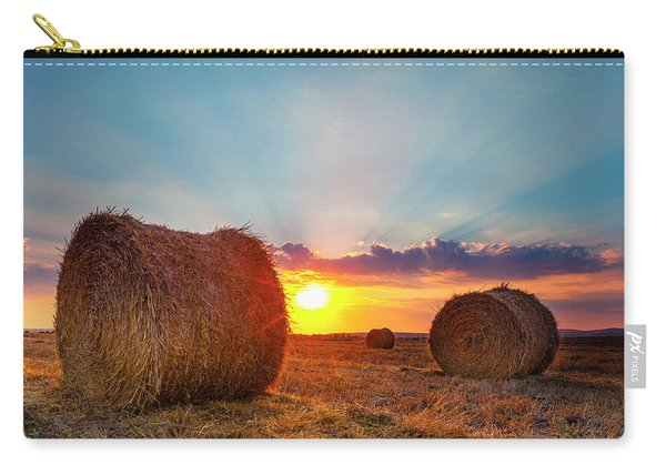 Sunset Bales Carry-all Pouch