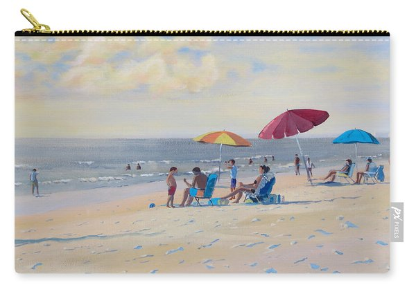 Sunset Beach Observers Carry-all Pouch