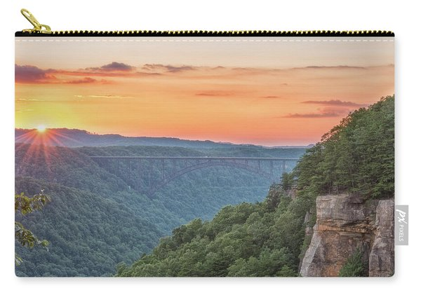 Sunset Flare Carry-all Pouch
