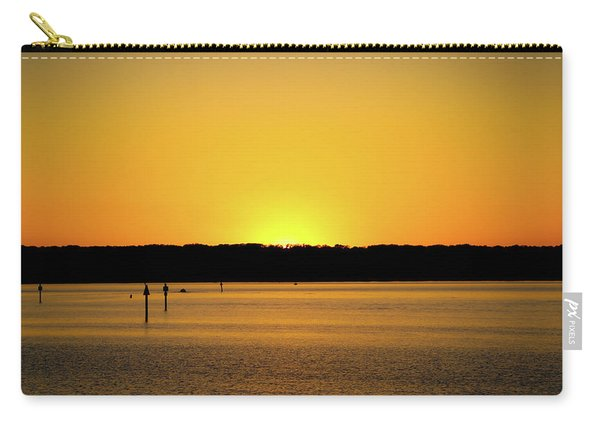 Sunset From National Harbor Carry-all Pouch