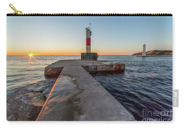 Sunset In Frankfort Carry-all Pouch