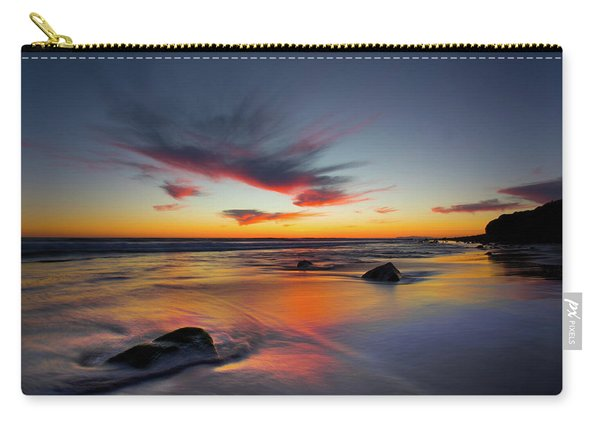 Sunset In Malibu Carry-all Pouch