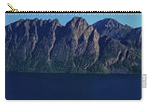Sunset In Norway In Lofoten Island Carry-all Pouch