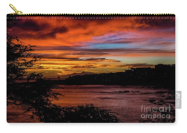 Sunset In Praia, Cape Verde Carry-all Pouch
