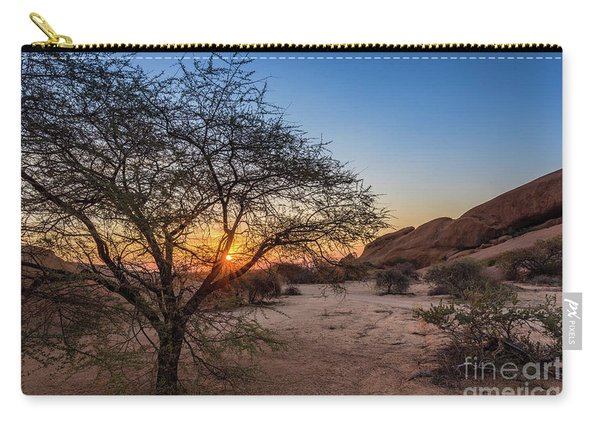 Sunset In Spitzkoppe, Namibia Carry-all Pouch