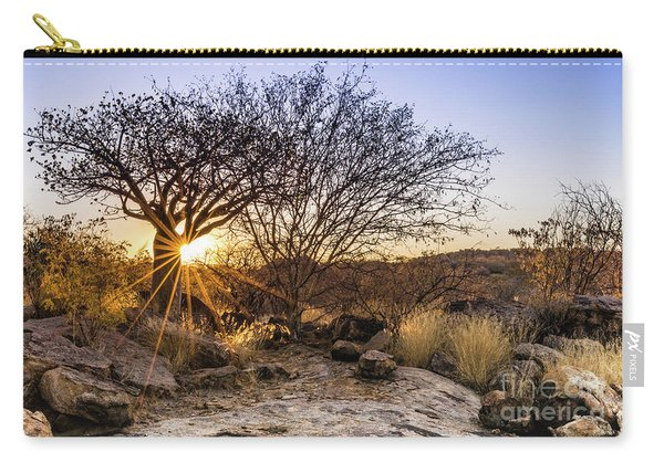 Sunset In The Erongo Bush Carry-all Pouch