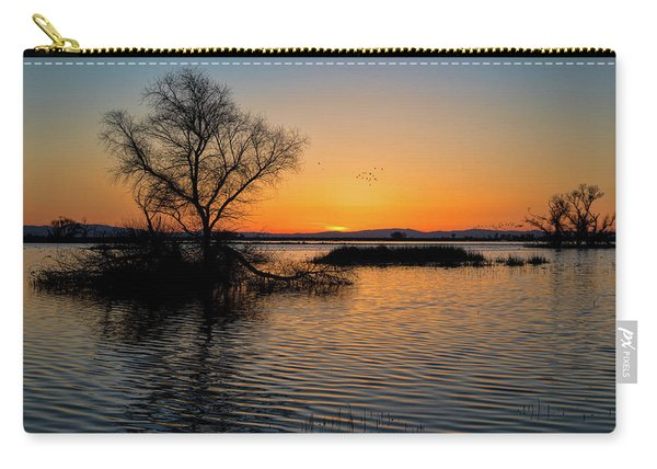 Sunset In The Refuge Carry-all Pouch