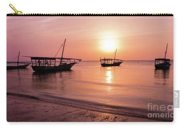 Sunset In Zanzibar Carry-all Pouch