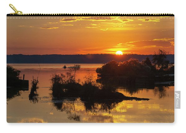 Sunset, Mallows Bay Carry-all Pouch