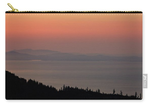Sunset Of The Olympic Mountains Carry-all Pouch