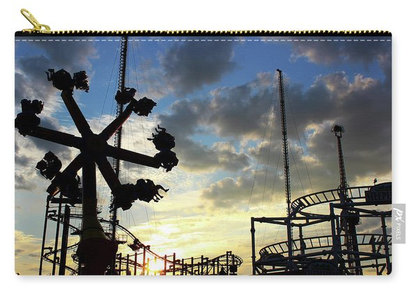 Sunset On Coney Island Carry-all Pouch