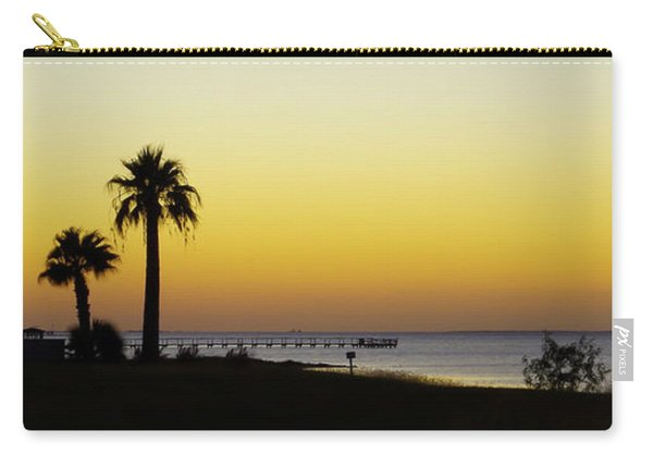 Sunset On Copano Bay, Texas Carry-all Pouch