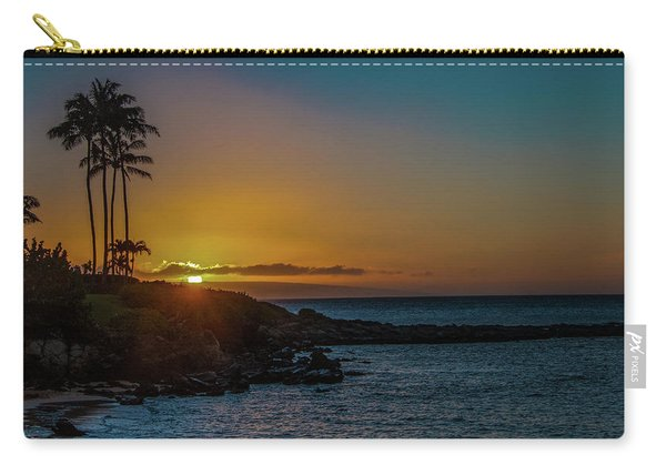 Sunset On Kapalua Carry-all Pouch