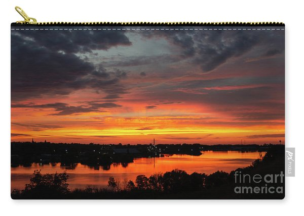 Sunset On Mainstee Lake Carry-all Pouch