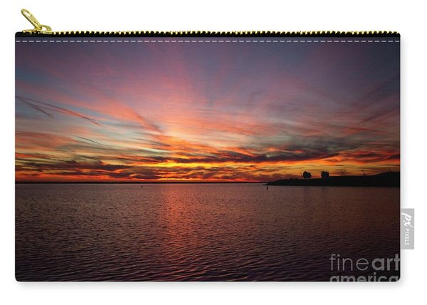 Sunset Over Canada Carry-all Pouch