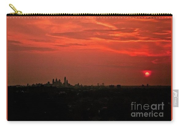 Sunset Over Philly Carry-all Pouch