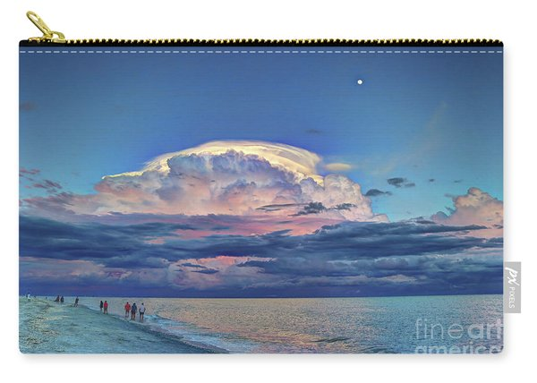 Sunset Over Sanibel Island Carry-all Pouch