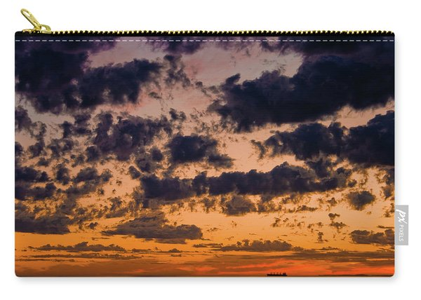 Sunset Over The Indian Ocean Carry-all Pouch