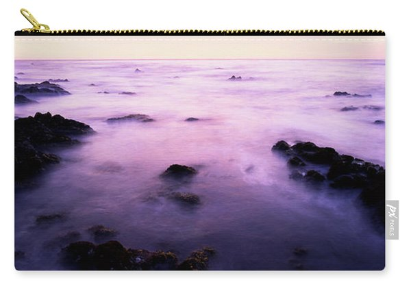 Sunset Over The Sea, 17-mile Drive Carry-all Pouch