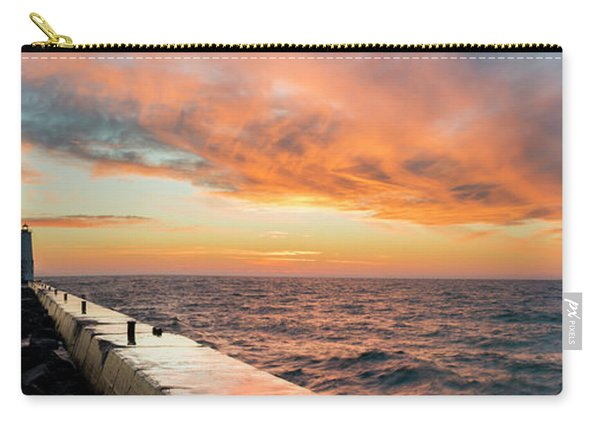 Sunset Panorama In Frankfort Carry-all Pouch
