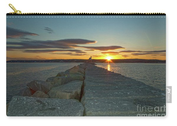 Sunset Seawall Carry-all Pouch