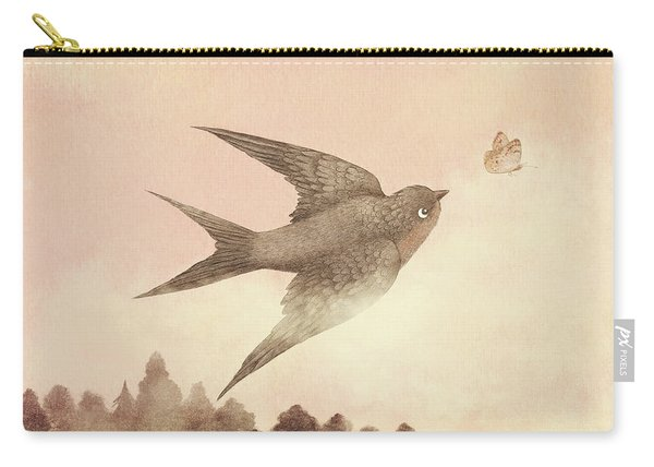 Sunset Swallow Carry-all Pouch