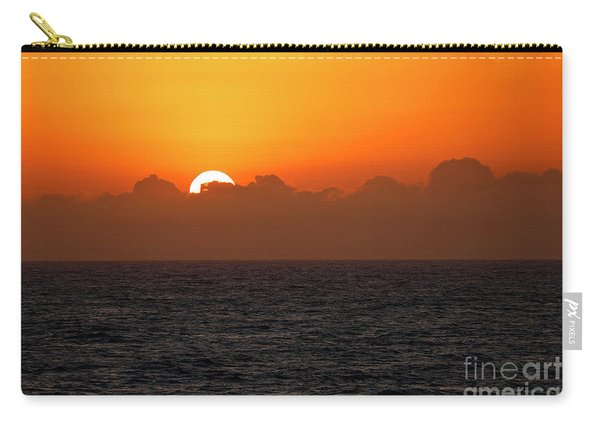 Sunset Through The Clouds Carry-all Pouch